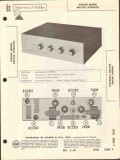 allied radio knight model kn520 stereo amplifier sams photofact manual