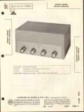 allied radio knight model kn-610 audio amplifier sams photofact manual
