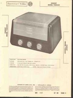 allied radio knight model 93sz655 15w amplifier sams photofact manual