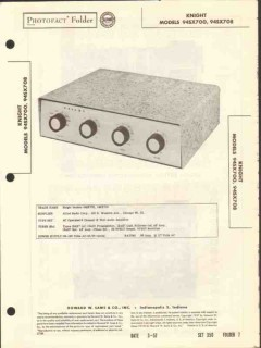 allied radio knight model 94sx700 12w amplifier sams photofact manual