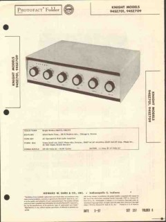 allied radio knight model 94sz701 24w amplifier sams photofact manual