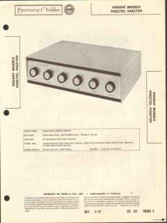 allied radio knight model 94sz701 24w amplifier sams photofact manual