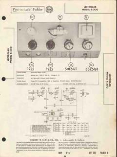 lectrolab model r-200 2 channel audio amplifier sams photofact manual