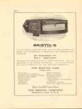 bristol company 1922 an instrument for every application vintage ad