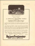 brown instrument company 1922 special machine tools vintage ad