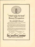 brown instrument company 1922 whats under the hood vintage ad