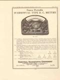 central scientific company 1922 darsonval type dc meters vintage ad