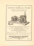 central scientific company 1922 the cenco hyvac pump vacuum vintage ad
