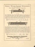 central scientific company 1923 cenco water cooled rheostat vintage ad