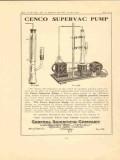 central scientific company 1923 cenco supervac pump vintage ad