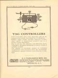 c j tagliabue mfg company 1950 vintage optical ad tag controllers