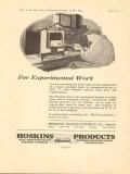 hoskins mfg company 1923 experimental work furnace vintage ad