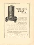 leeds northrup company 1923 parasitic emf eliminated vintage ad