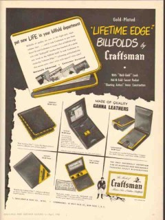 I Smallman Sons Company 1950 Vintage Ad Billfolds Embassy A-To-Z Envoy