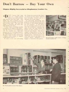 binghamton leather co 1950 dont borrow buy your own vintage article