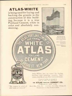 atlas portland cement company 1912 atlas-white backing lay vintage ad
