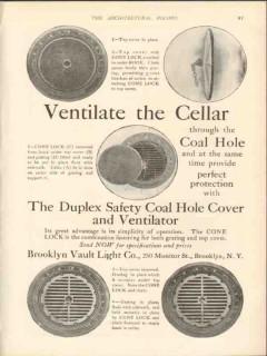 brooklyn vault light company 1912 ventilate the cellar vintage ad
