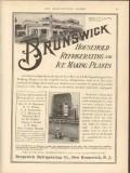 brunswick refrigerating company 1912 t a sperry cranford nj vintage ad