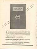 dahlstrom metallic door company 1912 fireproofing interiors vintage ad