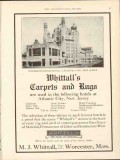 m j whittall 1912 marlborough-blenheim nj carpets rugs vintage ad