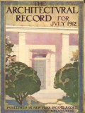 architectural record 1912 a g byne watercolor doorway print