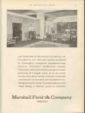 marshall field company 1912 branches decorative furnishings vintage ad