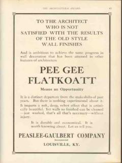 peaslee gaulbert company 1912 flatkoatt satisfied results vintage ad