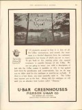 pierson u-bar company 1912 not the greenhouse usual vintage ad