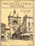 architectural record 1912 jm rose bordeaux great bell print