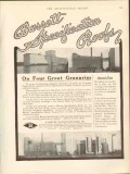 barrett mfg company 1912 canadian pacific rr granaries roof vintage ad