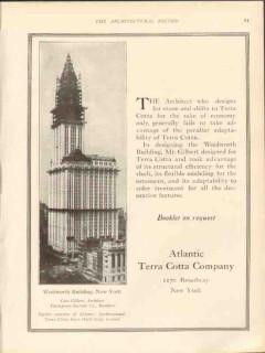 atlantic terra cotta company 1912 cass gilbert architect vintage ad