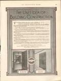dahlstrom metallic door company 1912 the unit idea building vintage ad