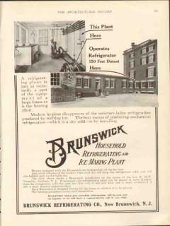 brunswick refrigerating company 1912 h mck twombly estate vintage ad