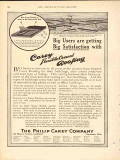 philip carey company 1912 dowagiac manufacturing co mi roof vintage ad