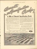 barrett mfg company 1912 bush terminal brooklyn ny roof vintage ad