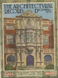 architectural record 1912 bramshill england cover print