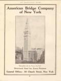 american bridge company 1910 metropolitan life ins tower ny vintage ad
