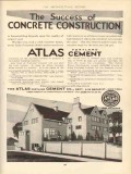 atlas portland cement 1910 success concrete construction vintage ad