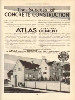 atlas portland cement 1910 success concrete construction vintage ad