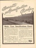 barrett mfg company 1910 mo pacific freight st lou mo roof vintage ad