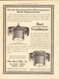 burt mfg company 1910 corporation recognizes vintage ad