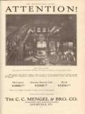 c c mengel bro company 1912 robert mitchell furniture stair vintage ad