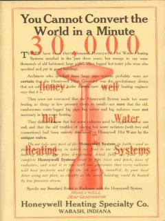 honeywell heating specialty company 1910 you cannot convert vintage ad
