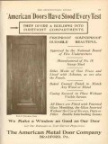 american metal door company 1911 have stood every test vintage ad