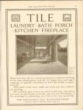 associated tile manufacturers 1911 an inviting porch vintage ad