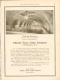 atlantic terra cotta company 1911 pittsburgh natatorium vintage ad