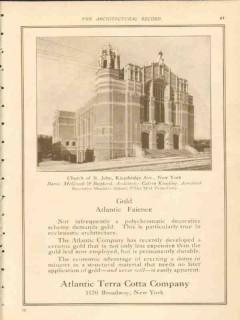 atlantic terra cotta company 1911 church st john bronx ny vintage ad