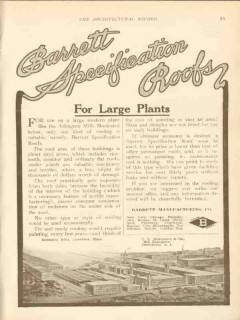 barrett mfg company 1911 c r makepeace co providence ri vintage ad