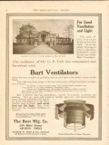 burt mfg company 1911 c p taft brother of wm taft residence vintage ad