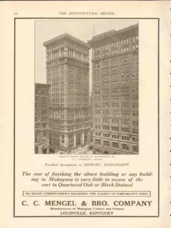c c mengel brother company 1912 arrott bldg pittsburgh pa vintage ad